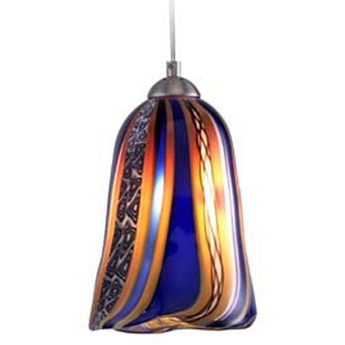 Oggetti Lighting Oggetti Lighting Amore Satin Nickel Mini-Pendant Light 18-L0156M