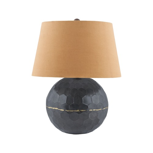 Elk Lighting Dimond Cordoba Bronze and Solder Table Lamp with Empire Shade 8983-031
