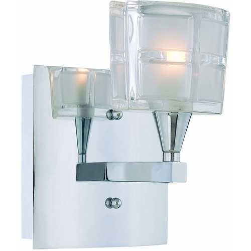 Lite Source Lighting Lite Source Lighting Iskyla Chrome Sconce LS-16981C/CLR