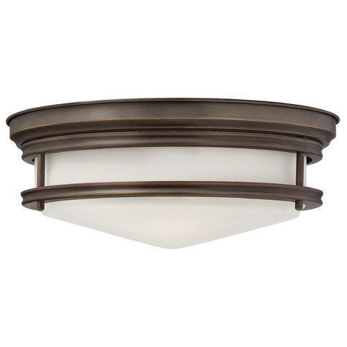Hinkley Hinkley Hadley 3-Light Oil Rubbed Bronze Flushmount Light 3301OZ
