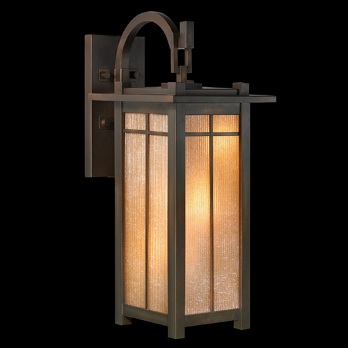 Fine Art Lamps Fine Art Lamps Capistrano Warm Bronze Patina Outdoor Wall Light 401381ST