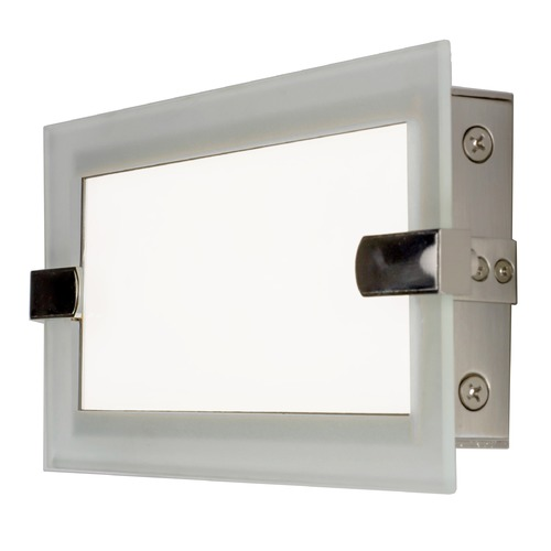 Maxim Lighting Maxim Lighting Trim Satin Nickel LED Bathroom Light 87622CLFTSN