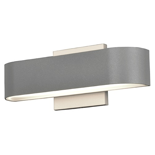 Access Lighting Access Lighting Montreal Satin Nickel LED Outdoor Wall Light 20046LEDDMG-SAT/FST