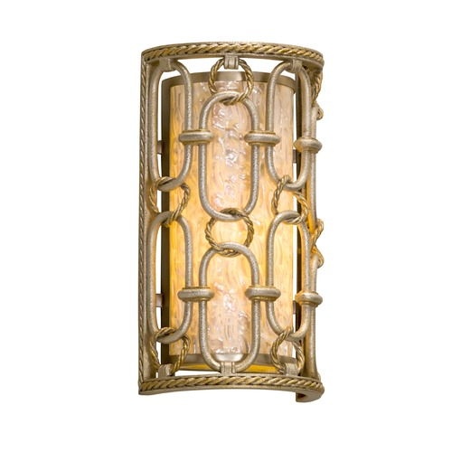 Corbett Lighting Corbett Lighting Sweet Talk Silver Leaf with Gold Leaf Accents Sconce 231-11