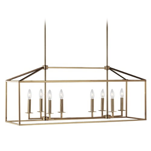 Sea Gull Lighting Sea Gull Lighting Perryton Satin Brass Island Light 6615008-848