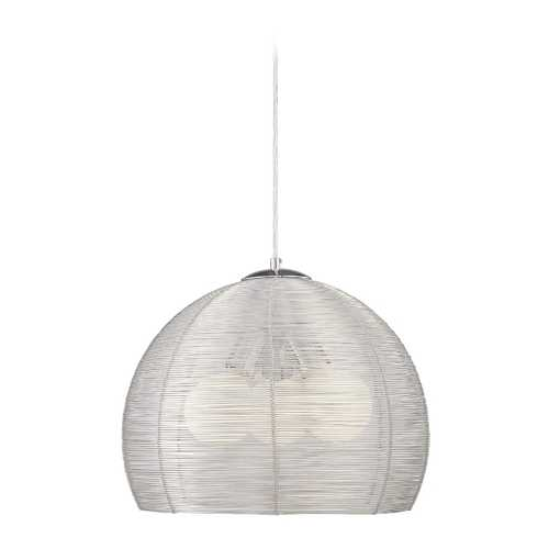 George Kovacs Lighting Modern Pendant Light in Chrome Finish P652-077