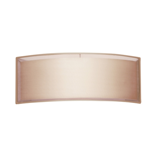Sonneman Lighting Modern Sconce Wall Light with Brown Shades in Black Brass Finish 6018.51F