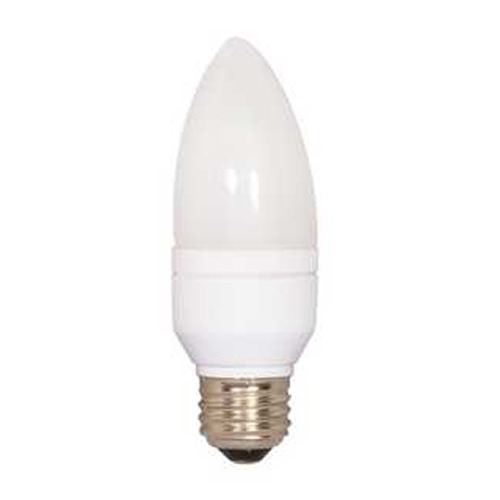 Satco Lighting 5-Watt Natural White Compact Fluorescent Light Bulb S7316