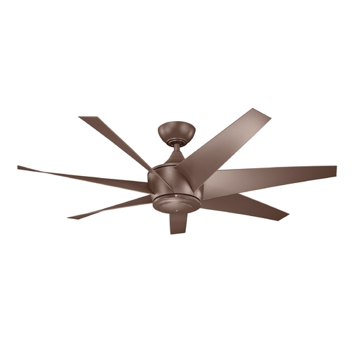 Kichler Lighting Kichler Lighting Lehr Ii Coffee Mocha Ceiling Fan Without Light 310112CMO