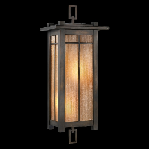 Fine Art Lamps Fine Art Lamps Capistrano Warm Bronze Patina Outdoor Wall Light 401581ST