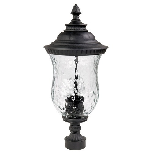 Capital Lighting Capital Lighting Ashford Black Post Light 9785BK