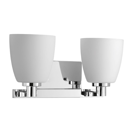 Progress Lighting Progress Lighting Fleet Polished Chrome Bathroom Light P2166-15