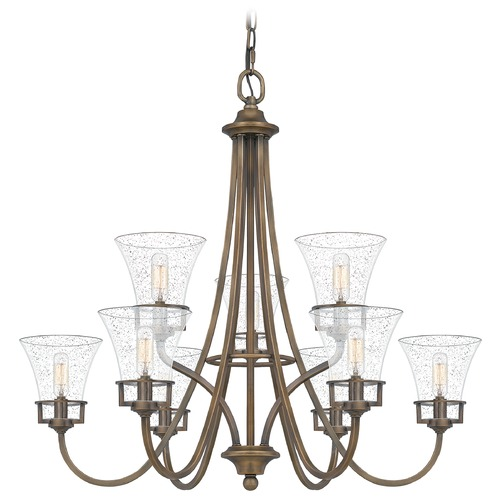 Quoizel Lighting Quoizel Lighting Fairchild Statuary Bronze Chandelier FCH5030SU