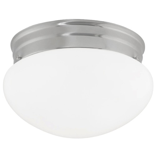 Design Classics Lighting 8-Inch Flushmount Ceiling Light 2962ES-SN/OP