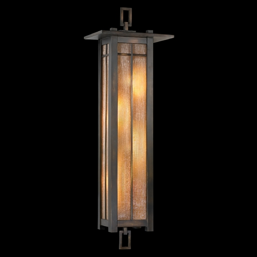 Fine Art Lamps Fine Art Lamps Capistrano Warm Bronze Patina Outdoor Wall Light 401681ST