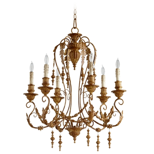Cyan Design Cyan Design Lolina French Umber Chandelier 06579