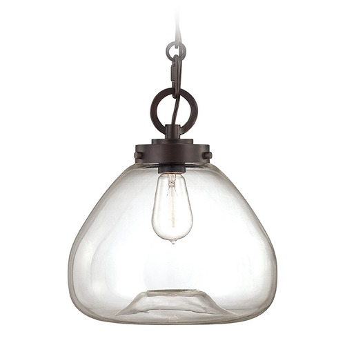 Savoy House Savoy House English Bronze Pendant Light with Bowl / Dome Shade 7-5370-1-13