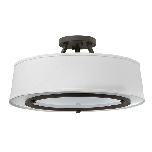 Hinkley Lighting Hinkley Lighting Harrison Buckeye Bronze Semi-Flushmount Light 3703KZ