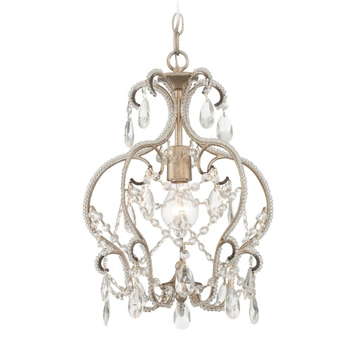Designers Fountain Lighting Designers Fountain Calla Argent Silver Pendant Light 6203-ARS