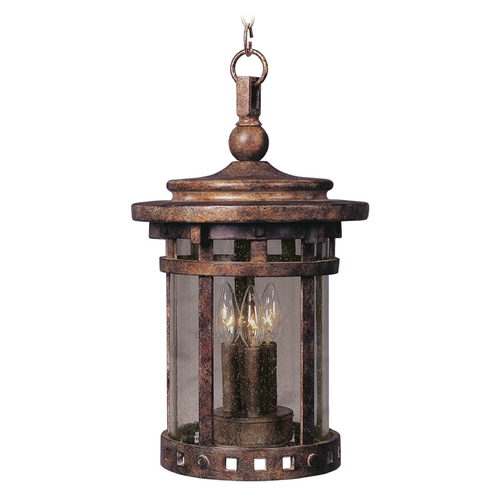Maxim Lighting Maxim Lighting Santa Barbara Dc Sienna Outdoor Hanging Light 3138CDSE