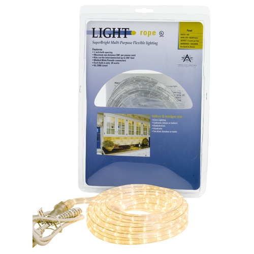 American Lighting 6-foot Commercial Grade Rope Light Kit 042-CL-6