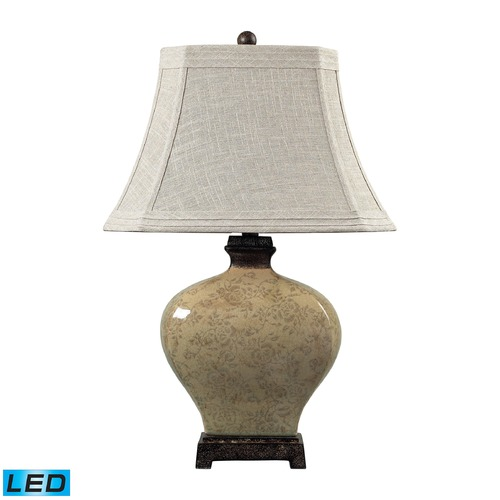 Dimond Lighting Dimond Lighting Sky Valley, Bronze LED Table Lamp with Cut Corner Shade 113-1132-LED