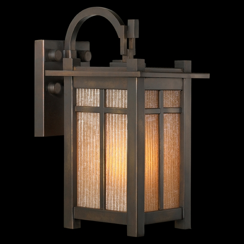 Fine Art Lamps Fine Art Lamps Capistrano Warm Bronze Patina Outdoor Wall Light 402081ST