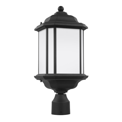 Sea Gull Lighting Sea Gull Kent Black Post Light 82529-12
