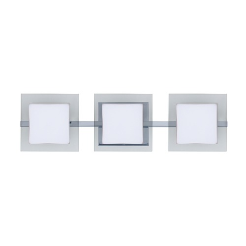 Besa Lighting Besa Lighting Alex Chrome LED Bathroom Light 3WS-773539-LED-CR