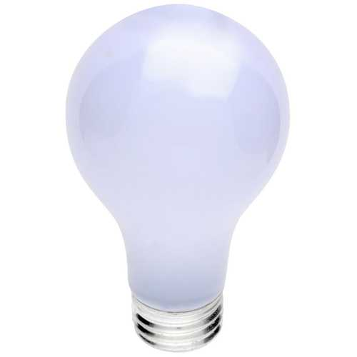 Satco Lighting Frosted 60-Watt A19 Light Bulb S3952