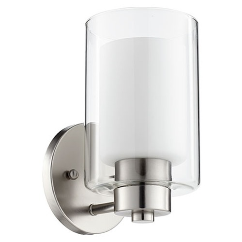 Quorum Lighting Quorum Lighting Satin Nickel Sconce 5582-1-65