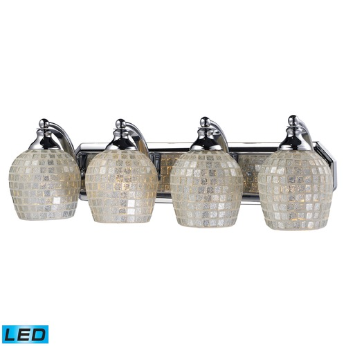 Elk Lighting Elk Lighting Bath and Spa Polished Chrome LED Bathroom Light 570-4C-SLV-LED