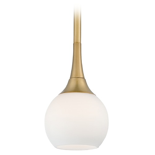 George Kovacs Lighting George Kovacs Pontil Honey Gold Mini-Pendant Light P1801-248