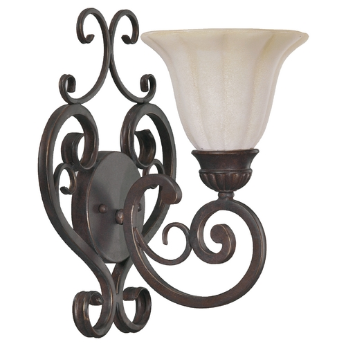 Quorum Lighting Quorum Lighting Coronado Gilded Bronze Sconce 5195-1-38
