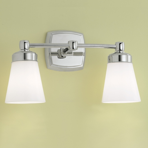 Norwell Lighting Norwell Lighting Soft Square Chrome Bathroom Light 8932-CH-SO