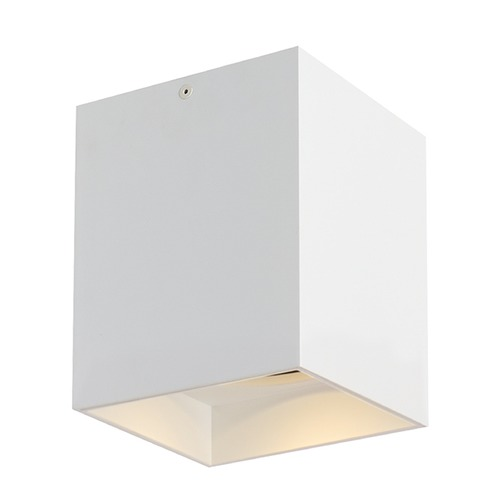 Tech Lighting White LED Flushmount Ceiling Light by Tech Lighting 700FMEXO660WW-LED927