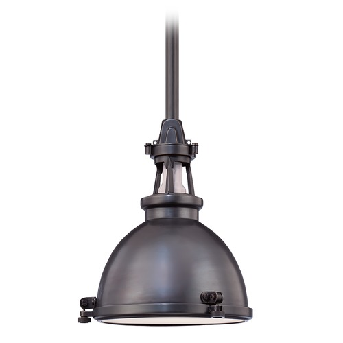 Hudson Valley Lighting Hudson Valley Lighting Massena Old Bronze Pendant Light with Bowl / Dome Shade 4614-OB