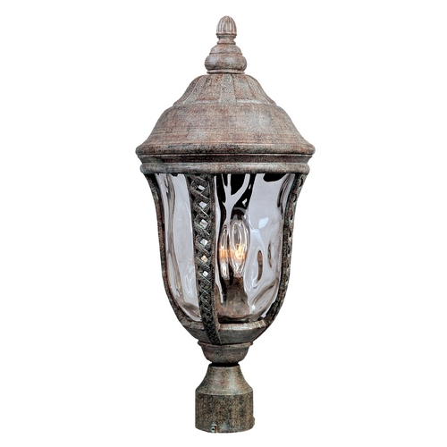 Maxim Lighting Post Light with Clear Glass in Earth Tone Finish 3101WGET