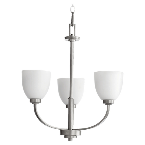 Quorum Lighting Quorum Lighting Reyes Classic Nickel Chandelier 6060-3-64