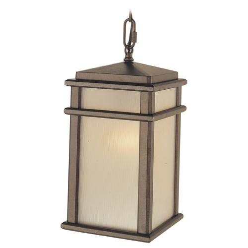Feiss Lighting Feiss Lighting Mission Lodge Corinthian Bronze LED Outdoor Hanging Light OL3411CB-LED