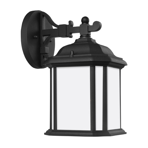 Sea Gull Lighting Sea Gull Kent Black Outdoor Wall Light 84529-12