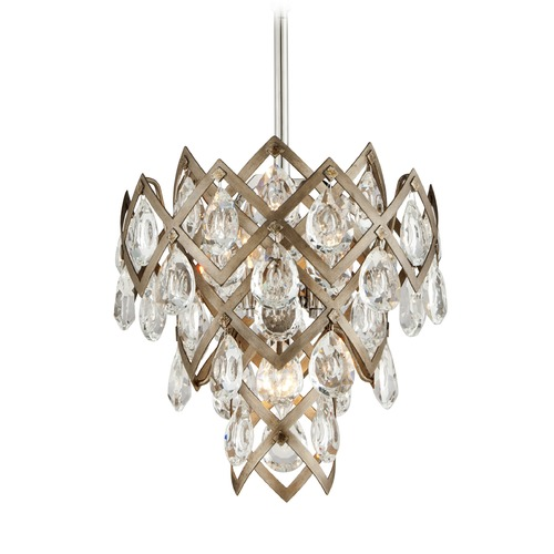 Corbett Lighting Corbett Lighting Tiara Vienna Bronze Pendant Light 214-44