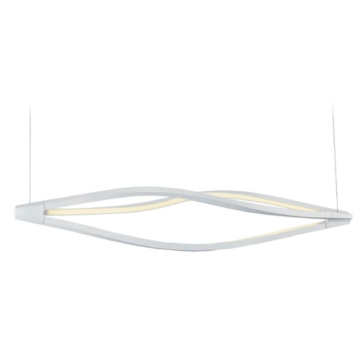 ET2 Lighting Cyclone LED Matte White LED Pendant Light E41390-11MW