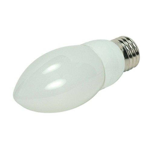 Satco Lighting 7-Watt Warm White Compact Fluorescent Light Bulb S7321