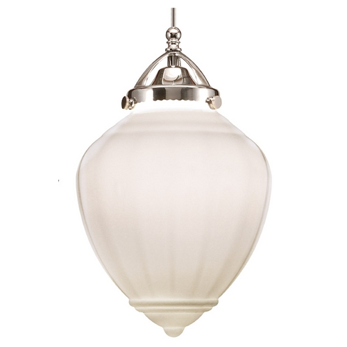 WAC Lighting Wac Lighting Early Electric Collection Brushed Nickel LED Mini-Pendant with Bowl / MP-LED495-WT/BN
