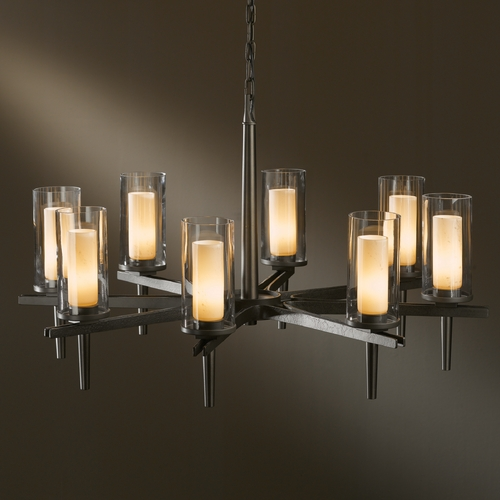 Hubbardton Forge Lighting Hubbardton Forge Lighting Constellation Dark Smoke Chandelier 104305-07-ZV323