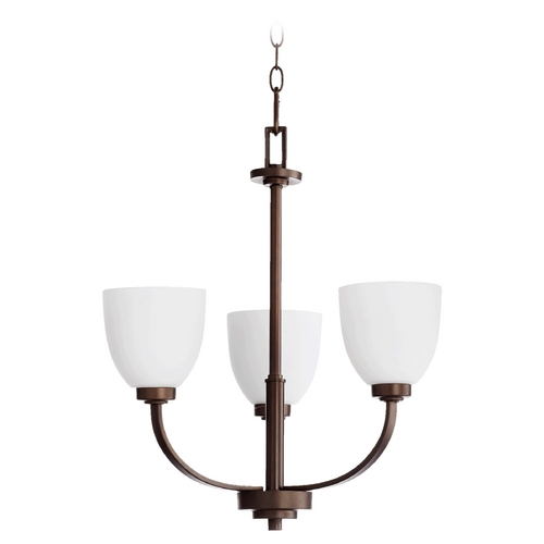 Quorum Lighting Quorum Lighting Reyes Oiled Bronze Chandelier 6060-3-86