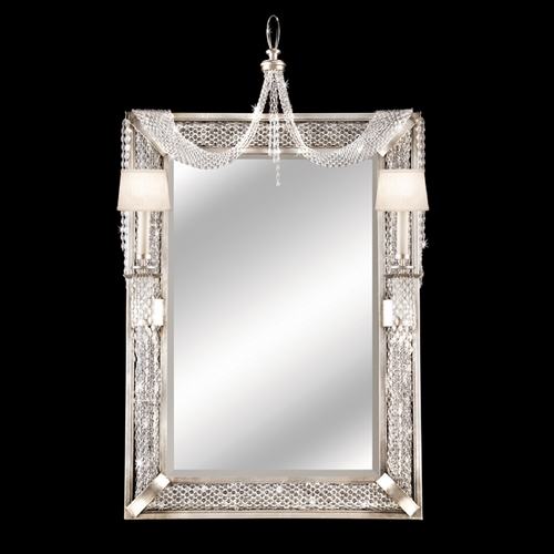 Fine Art Lamps Cascades Rectangle 35-Inch Mirror 751255ST