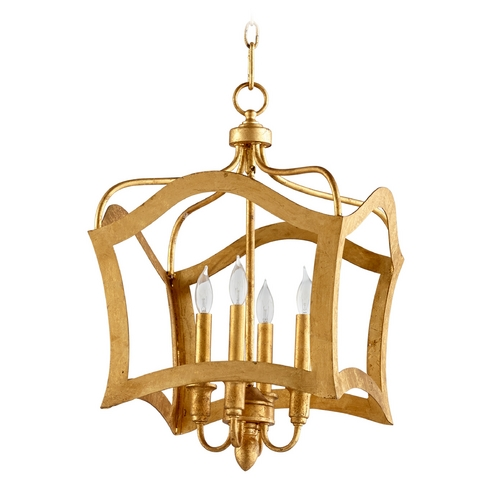 Cyan Design Cyan Design Milan Gold Leaf Pendant Light 06583