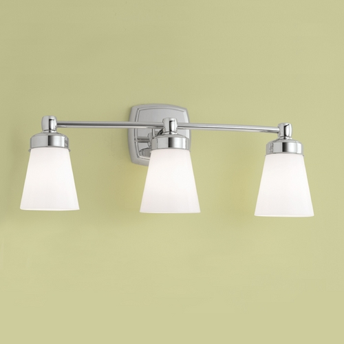 Norwell Lighting Norwell Lighting Soft Square Chrome Bathroom Light 8933-CH-SO